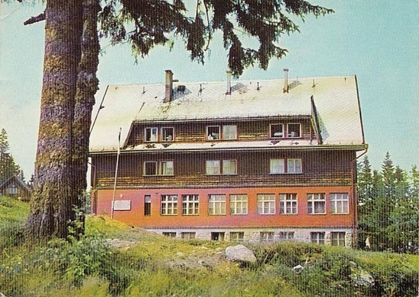 Chata na Martinských holiach, 70te roky