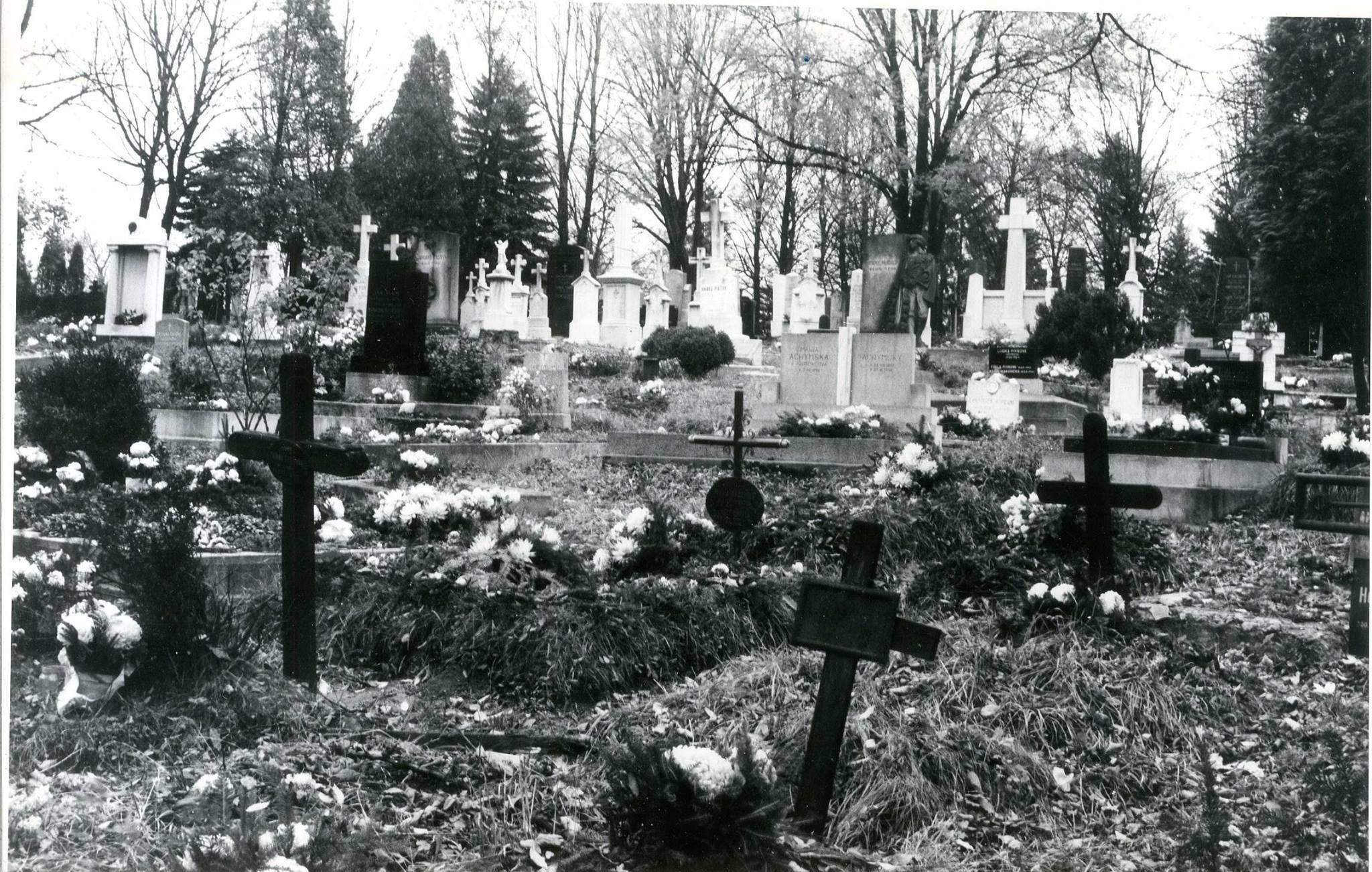 Cintorín, 70te roky