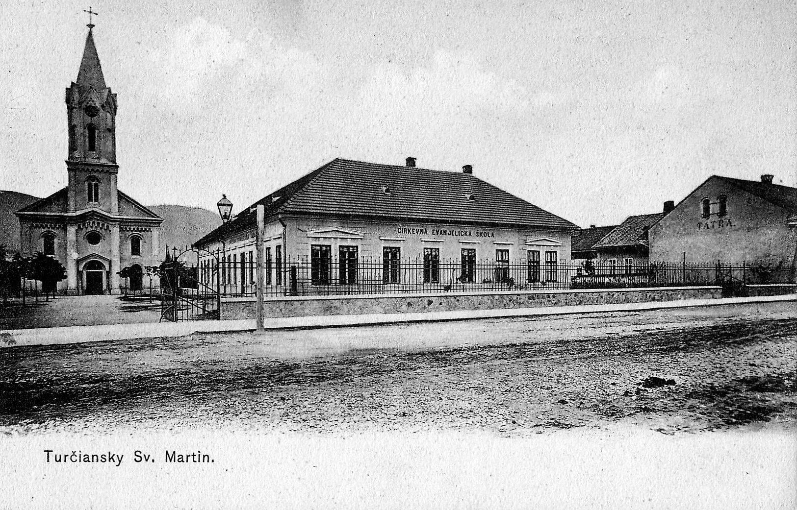 Cirkevna škola, 20te roky