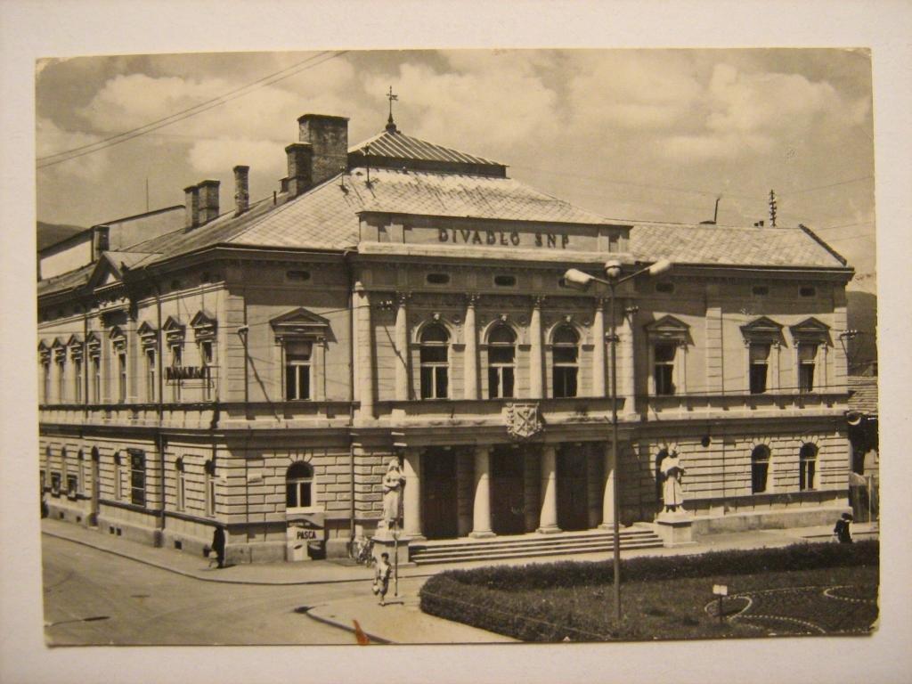 Divadlo, 60te roky