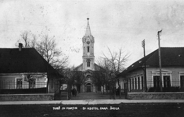 Evanjelický kostol, 20te roky