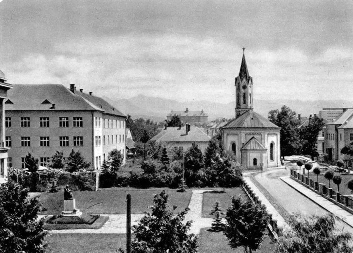 Evanjelicky kostol, 70te roky