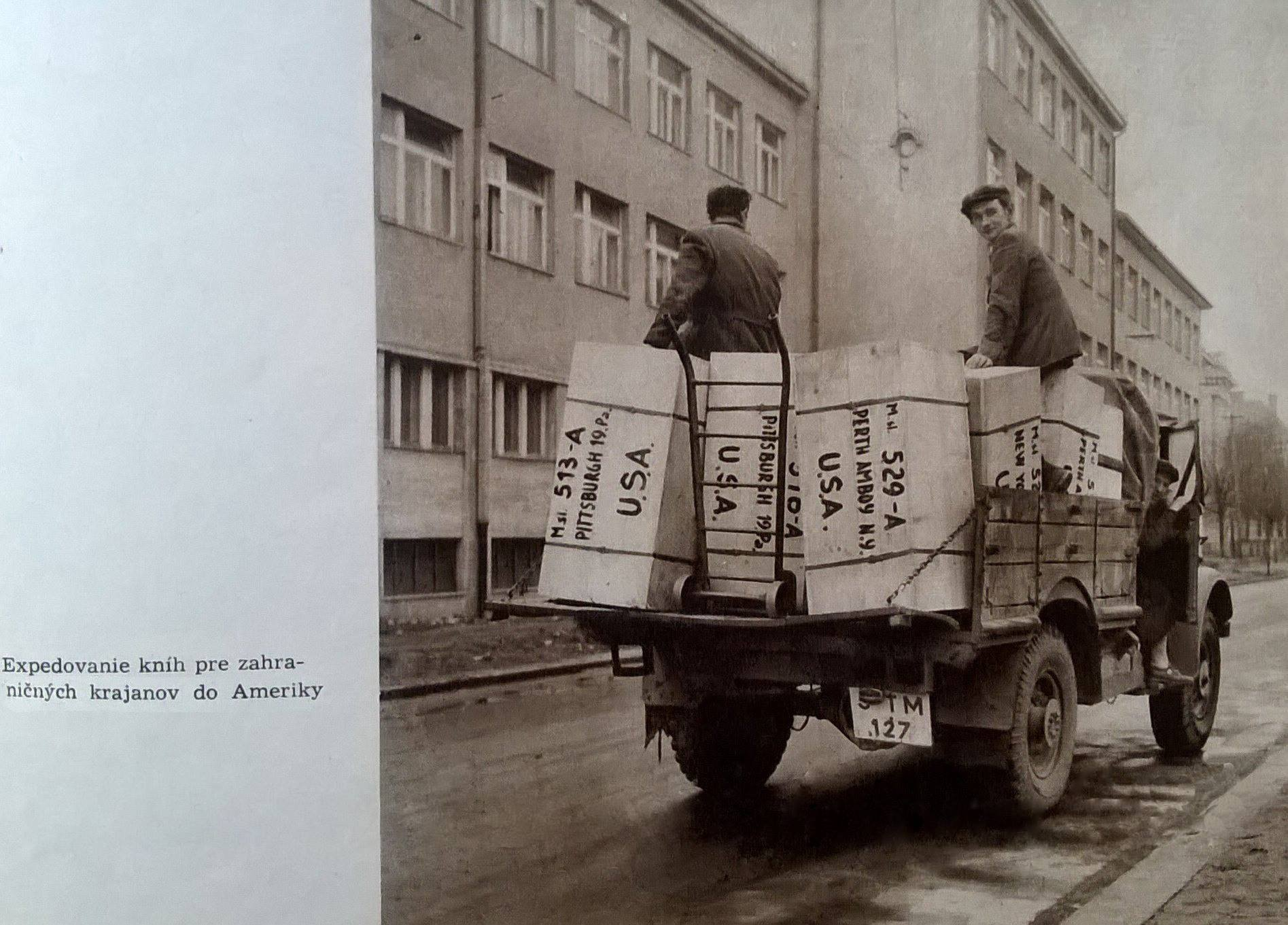 Expedovanie knih, 70te roky