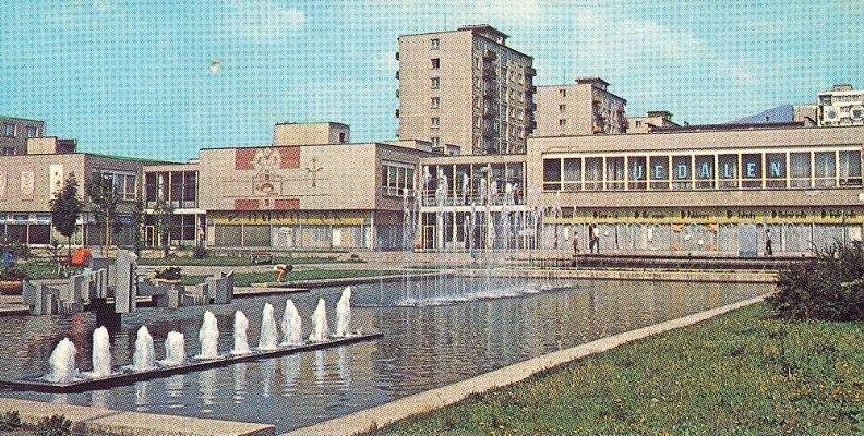 Fontána na severe, 70te roky