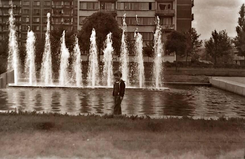 Fontána na Severe, 80te roky