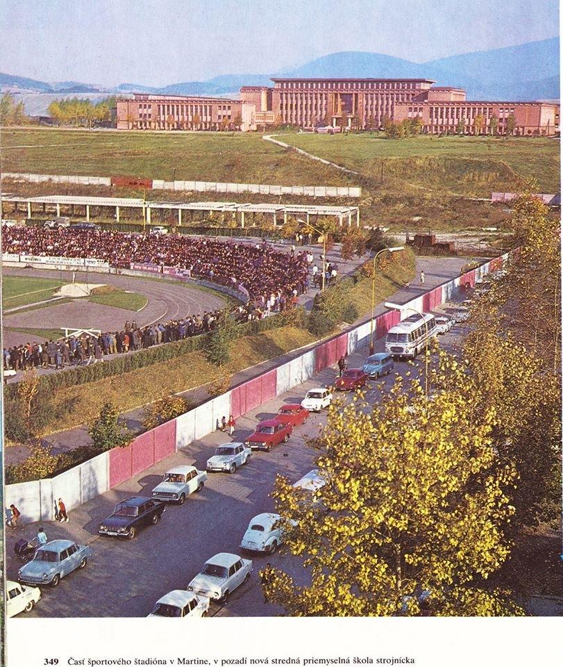 Martinský futbal, 70te roky