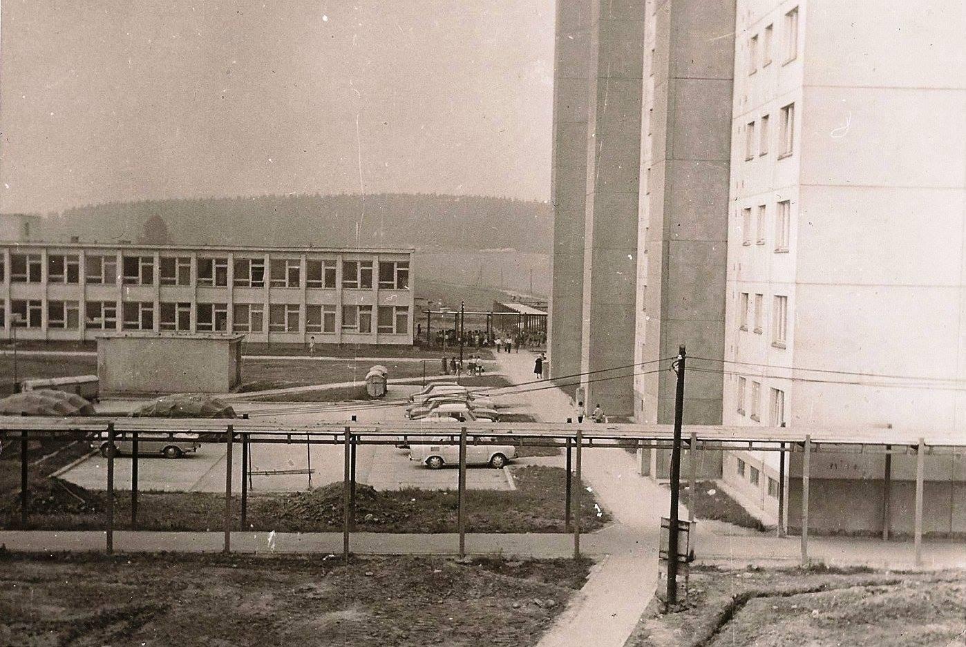 Jahodníky, 70te roky