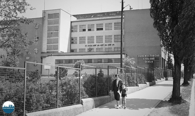 1.6.1956 - Jedenásťročnú strednú školu postavili ešte pred vojnou