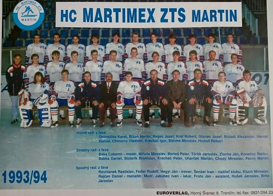 Hokejisti, 1993, 1994
