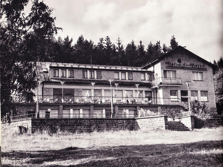 Horsky hotel stráne, 70te roky
