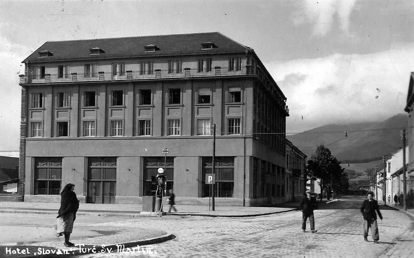 Hotel Slovan, 50te roky