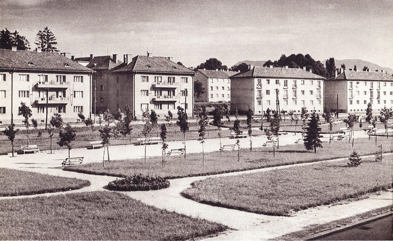 Hviezdoslavov park, 50te roky
