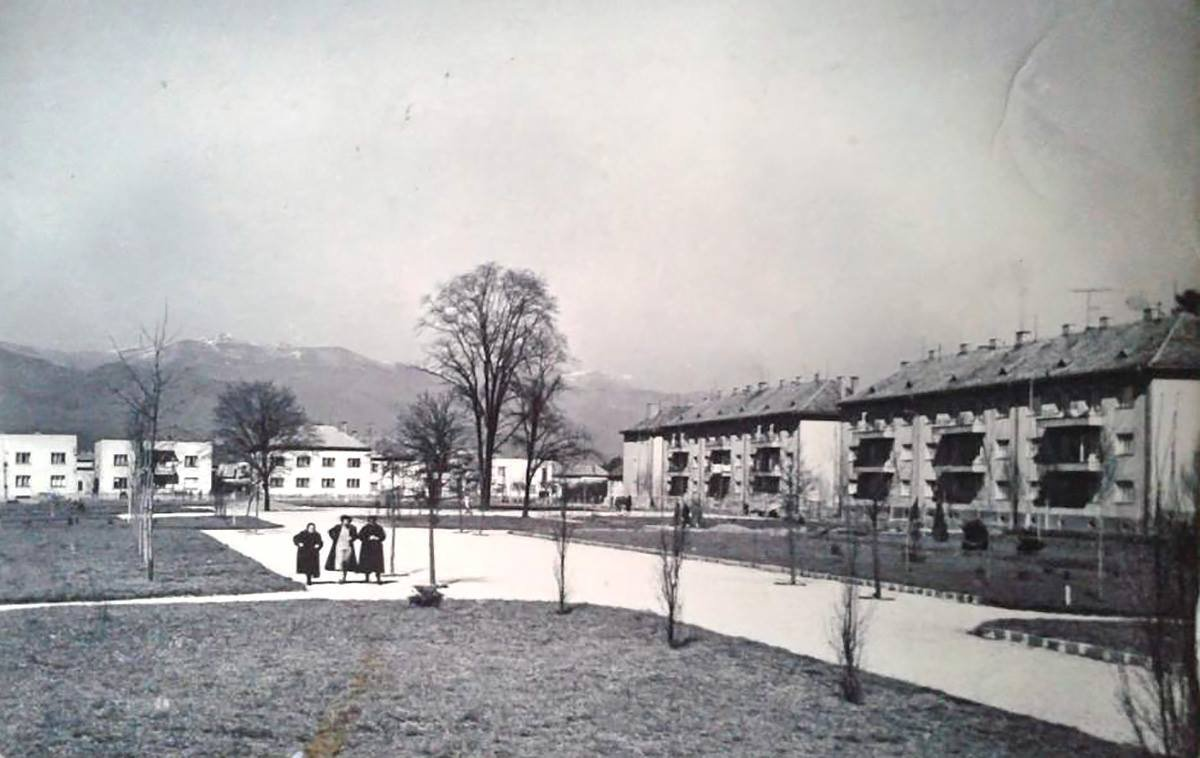 Hviezdoslavov park, 60te roky