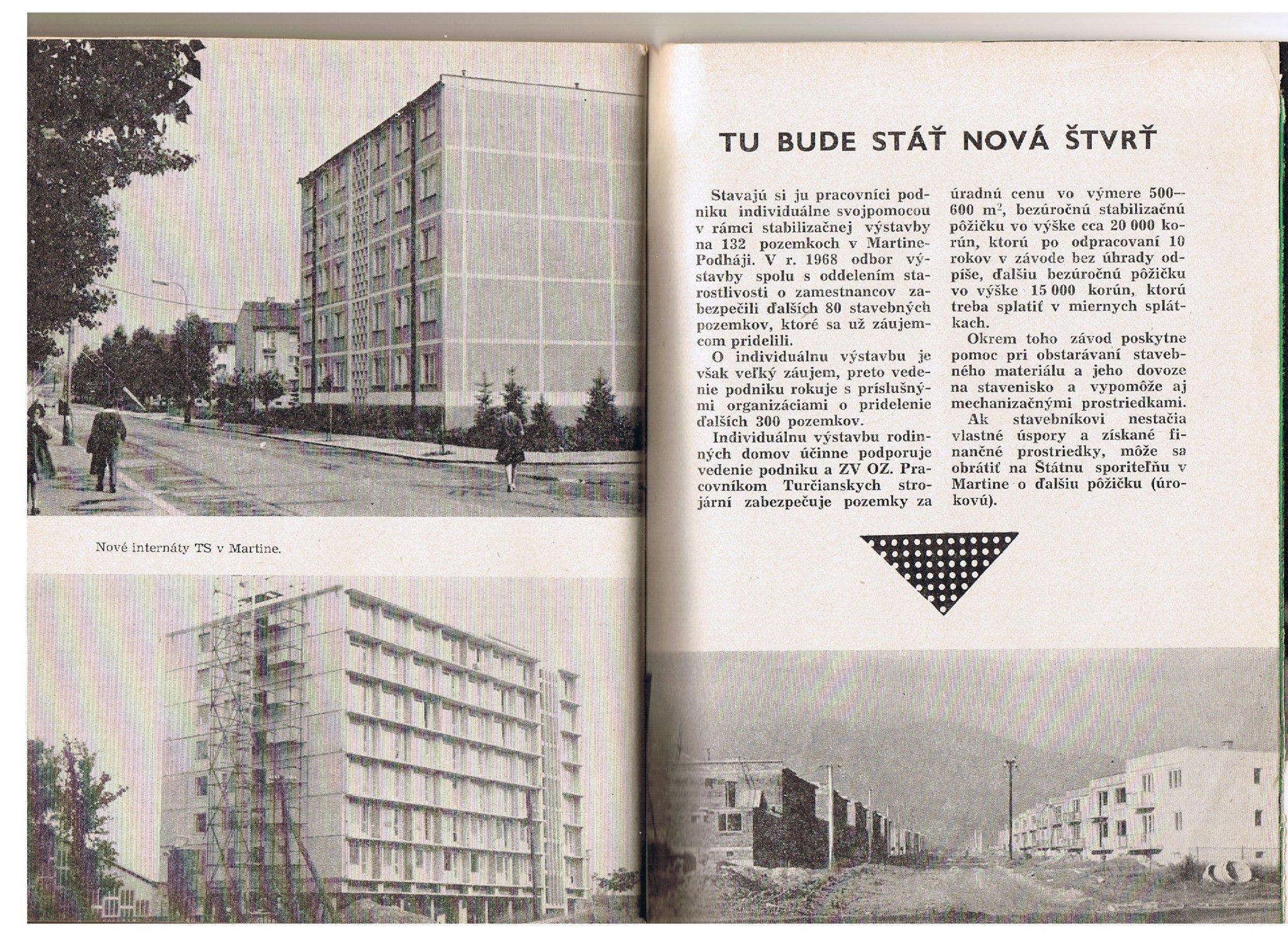 Internáty v mt, 70te roky
