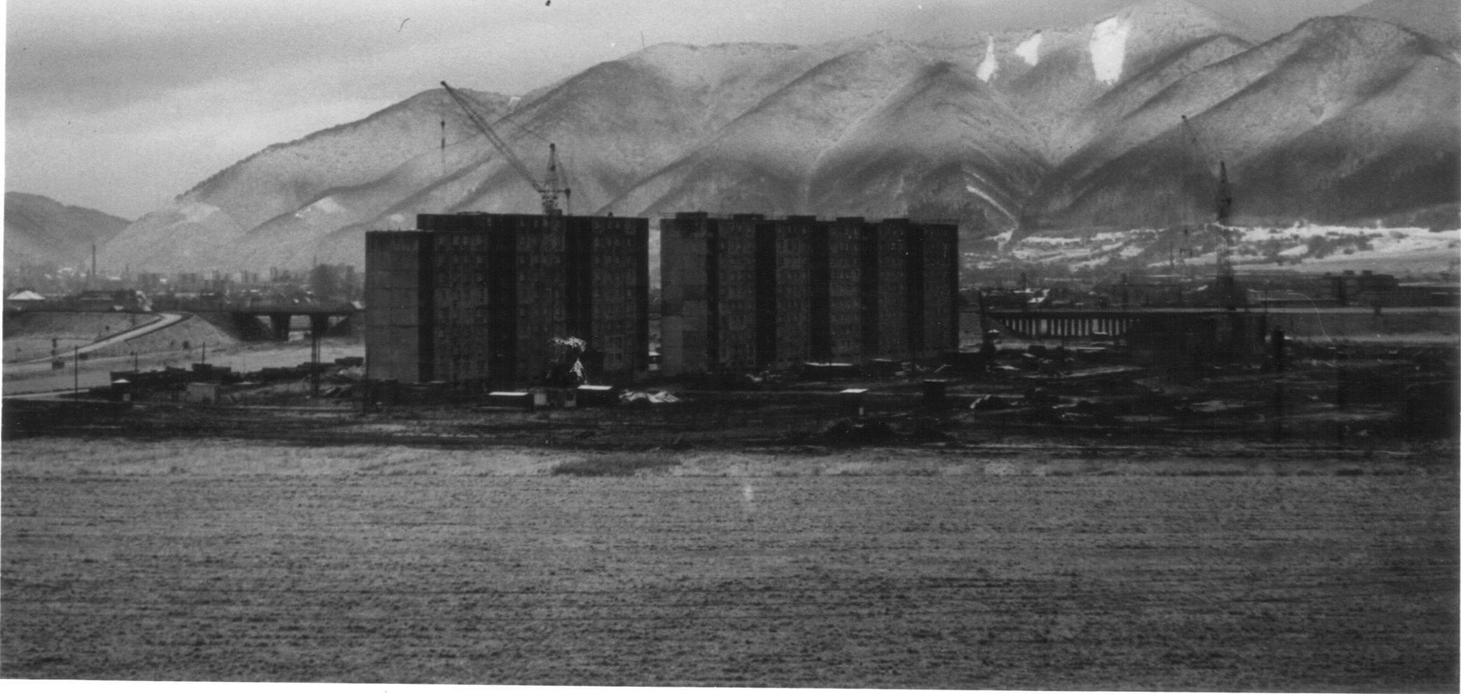 Výstavba Košút, 80te roky
