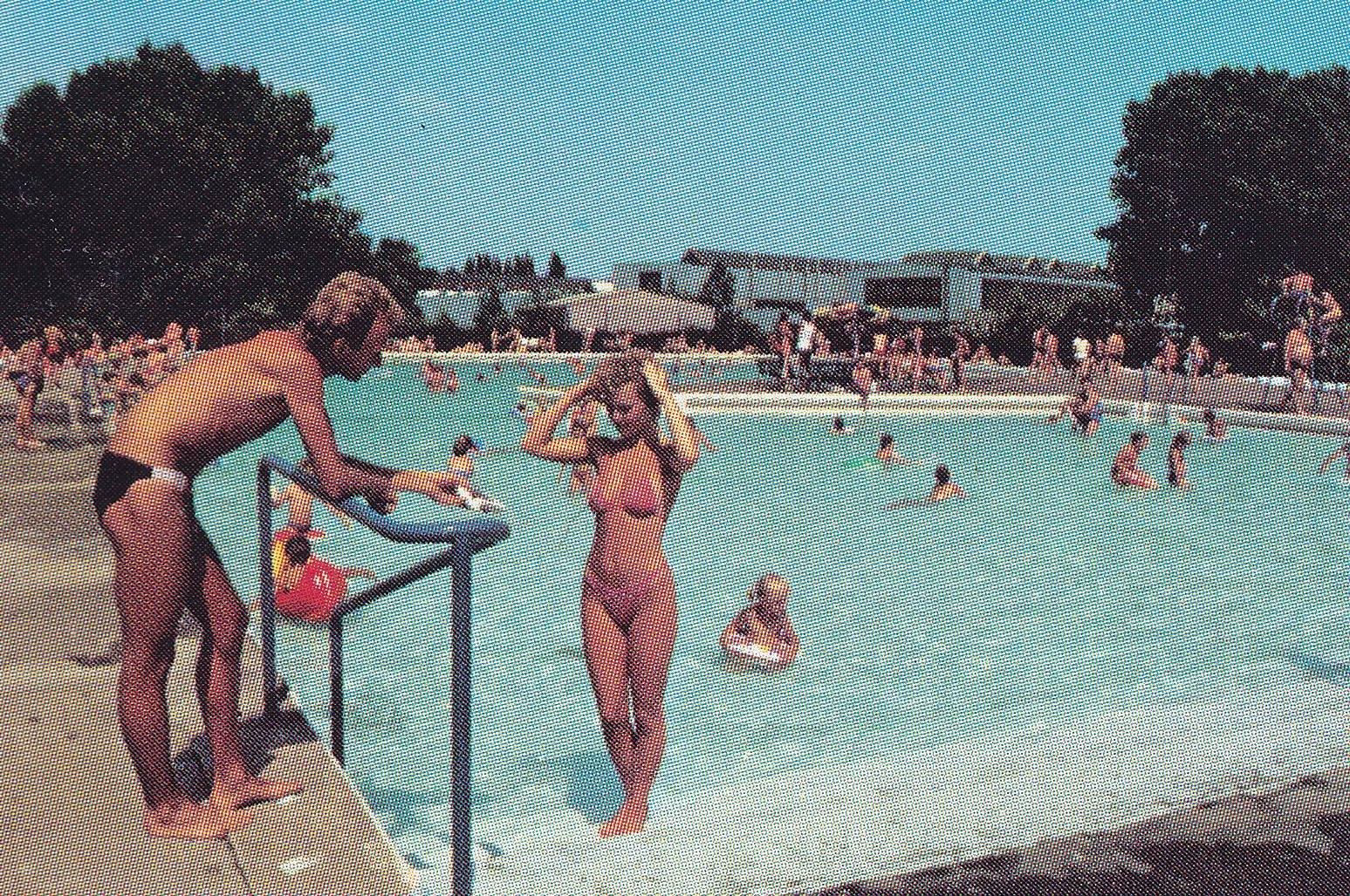 Kúpalisko, 70te roky