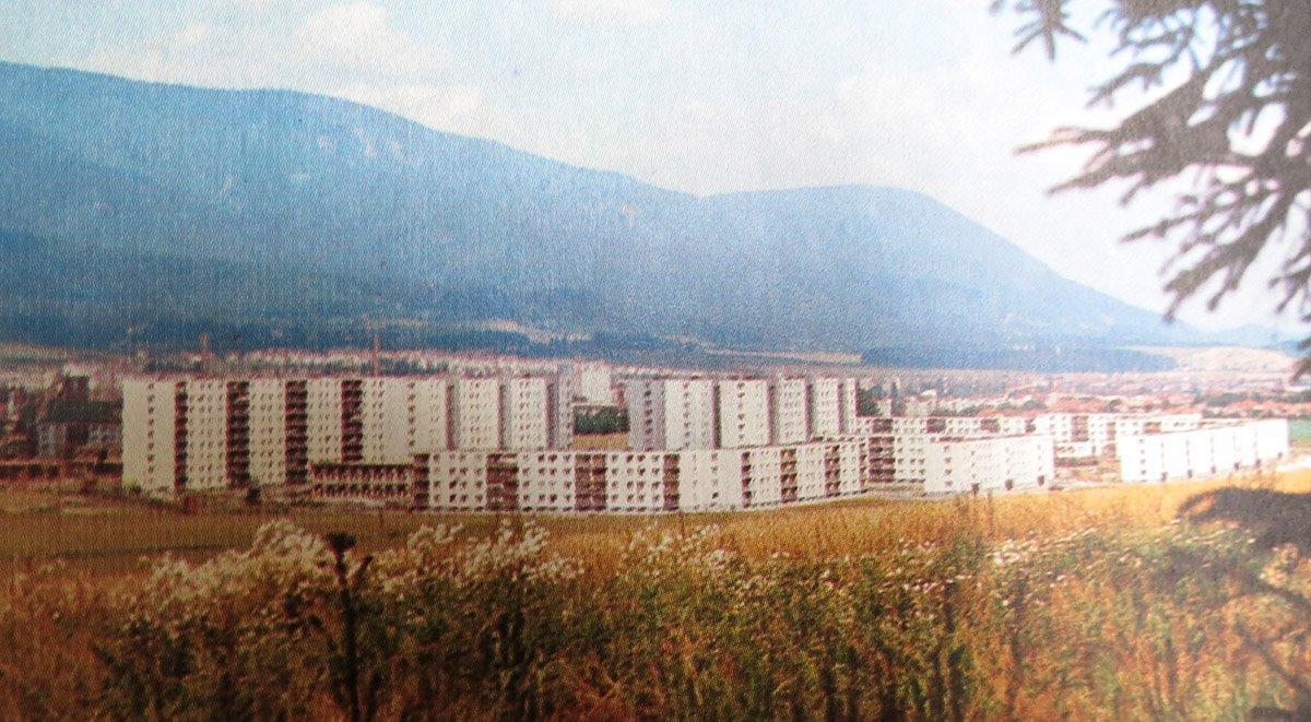 Ladoven, stavbarska, 70te roky
