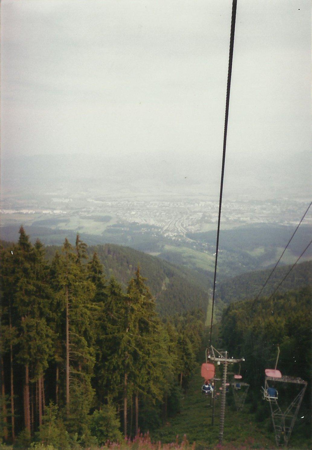 Lanovka na martinských holiach, 1999