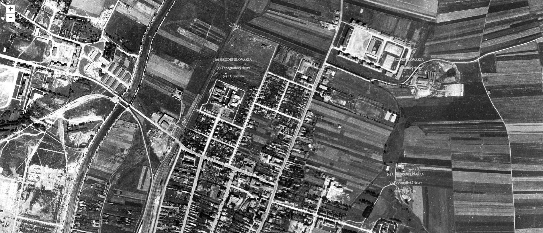 Mapa, 1950