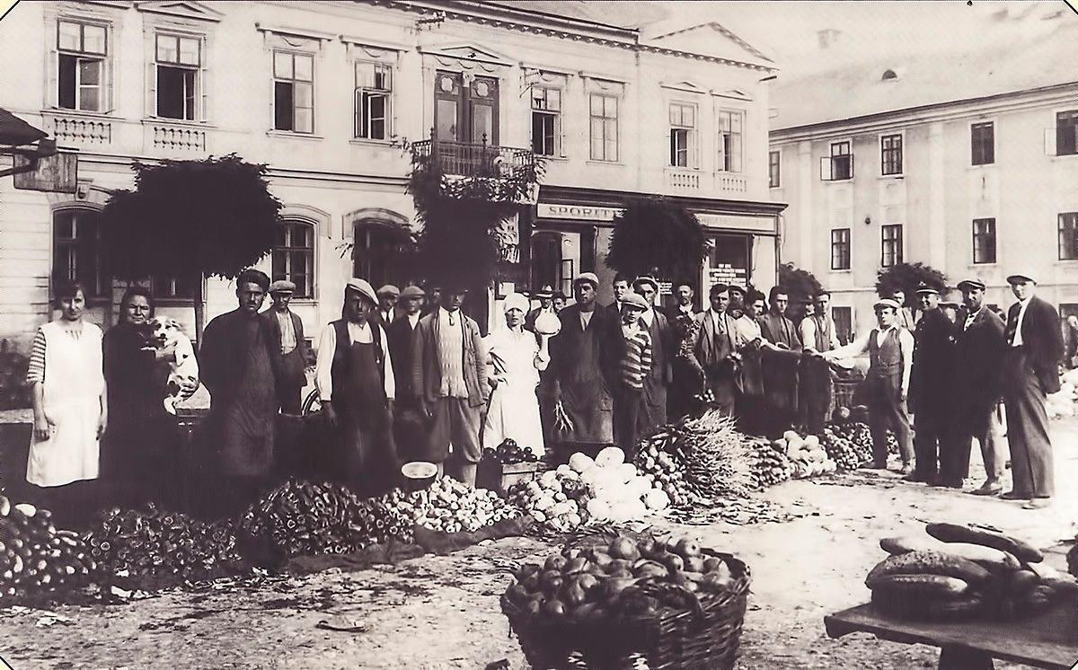 Martinsky trh, mestský dom, 1932