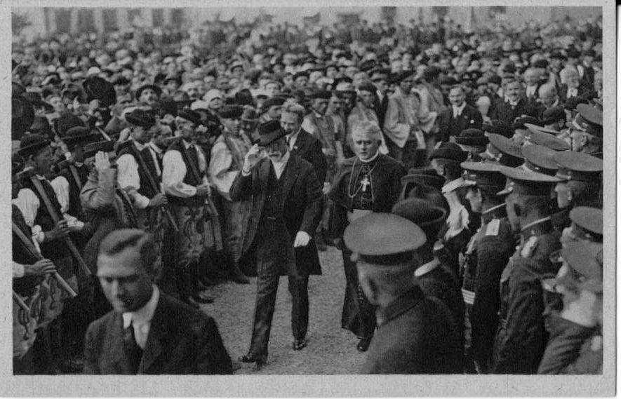Masaryk v Martine, 1926