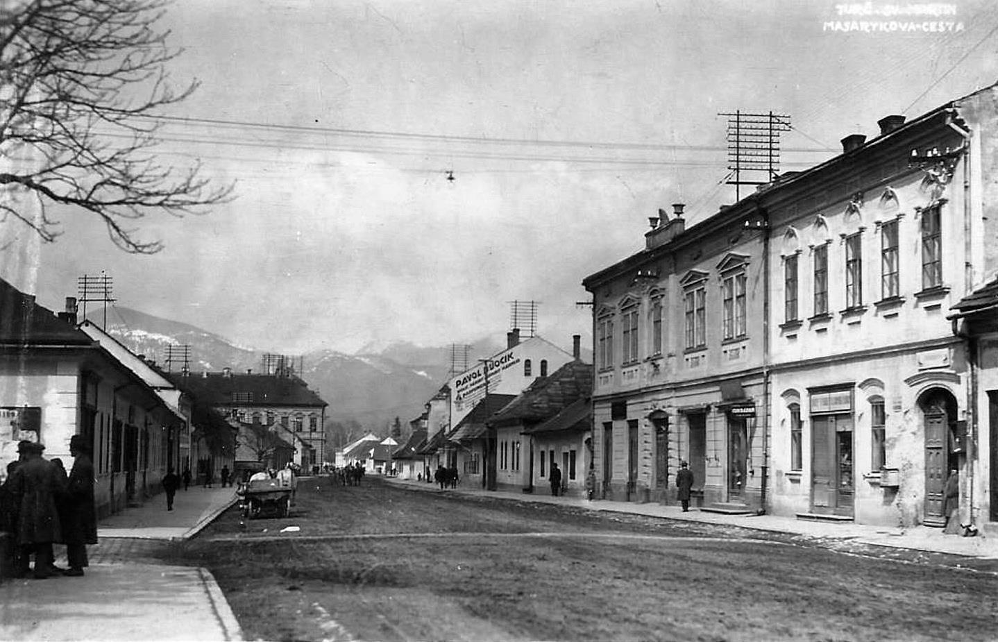 Masarykova, 20te roky