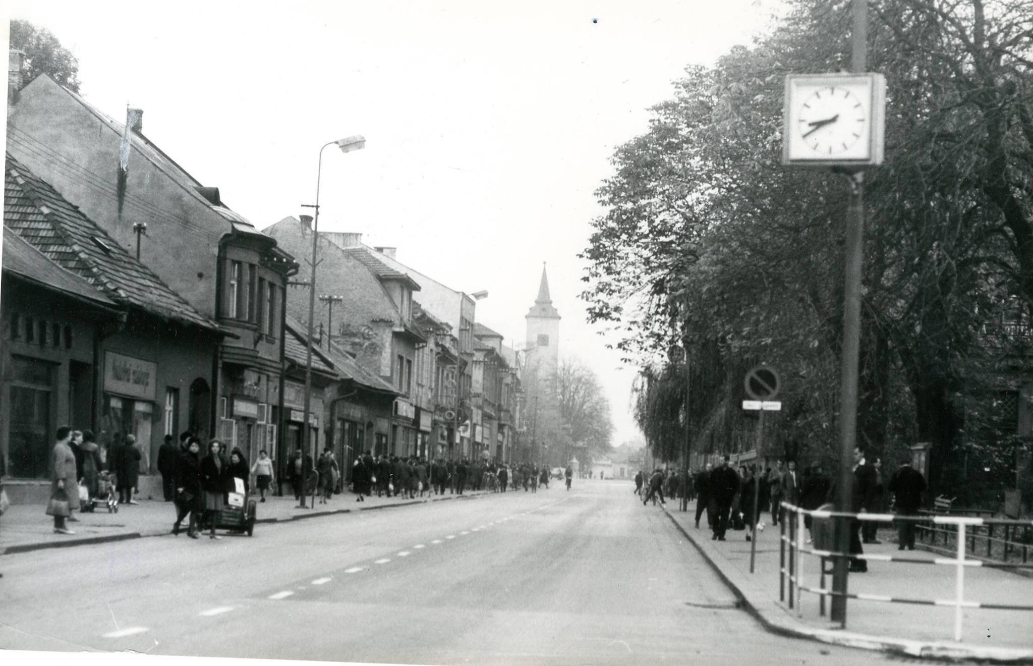 Mesto, 70te roky