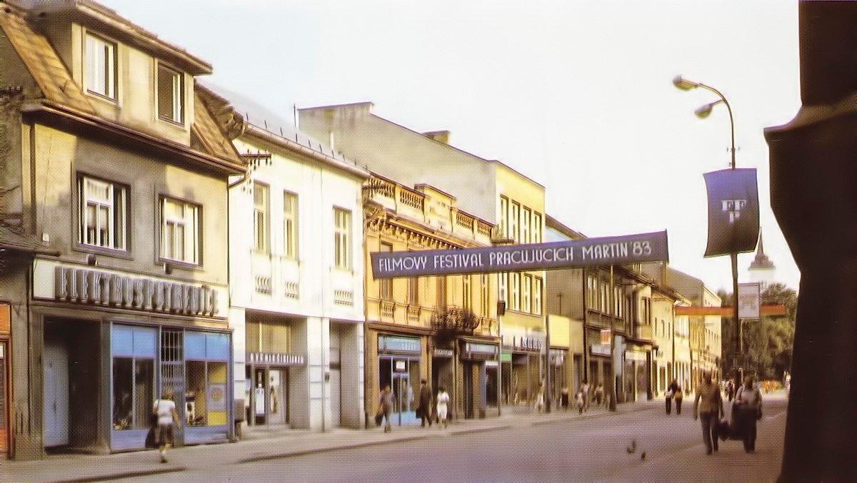 Mesto, 80te roky