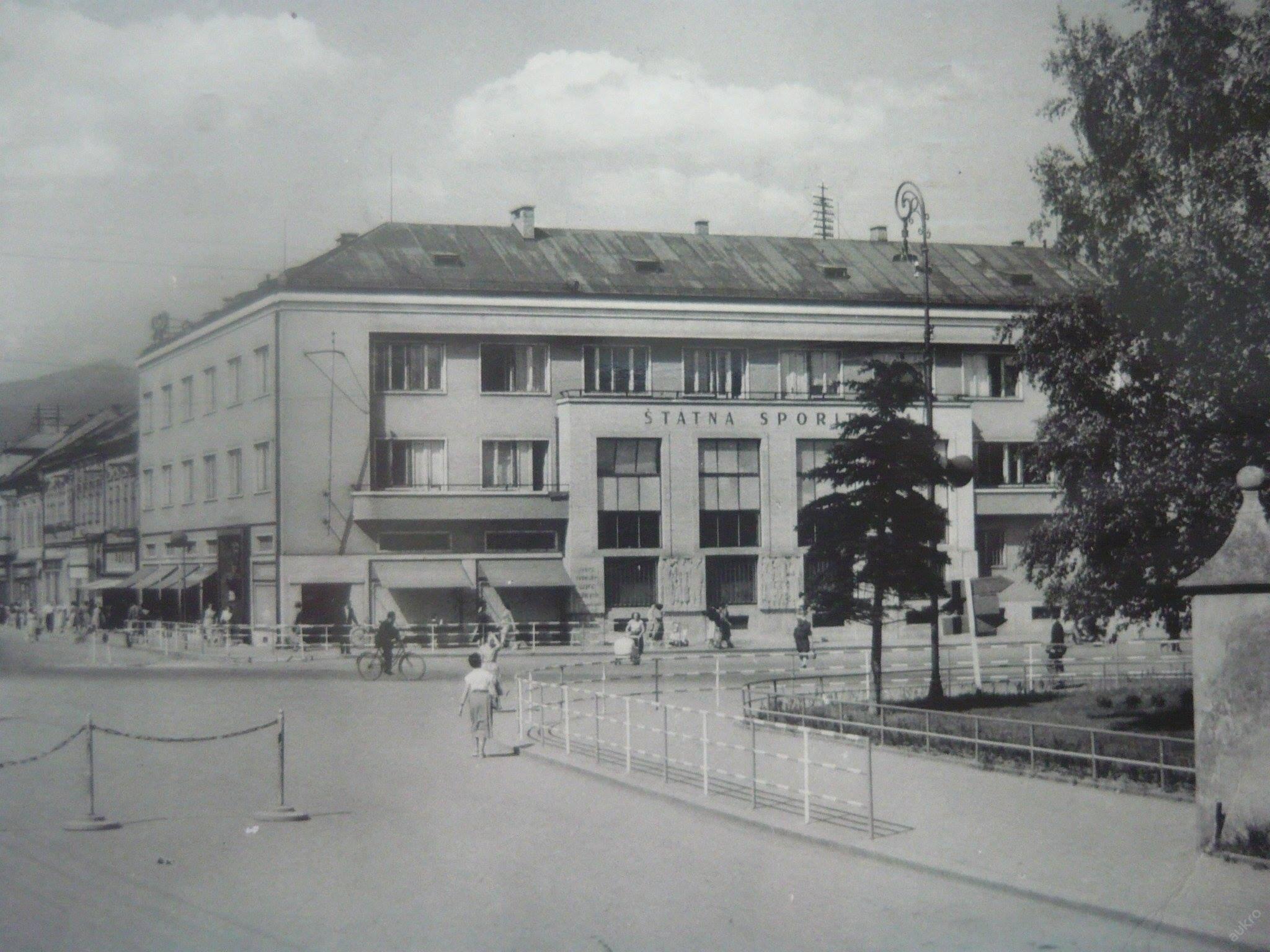 Mesto, 60te roky