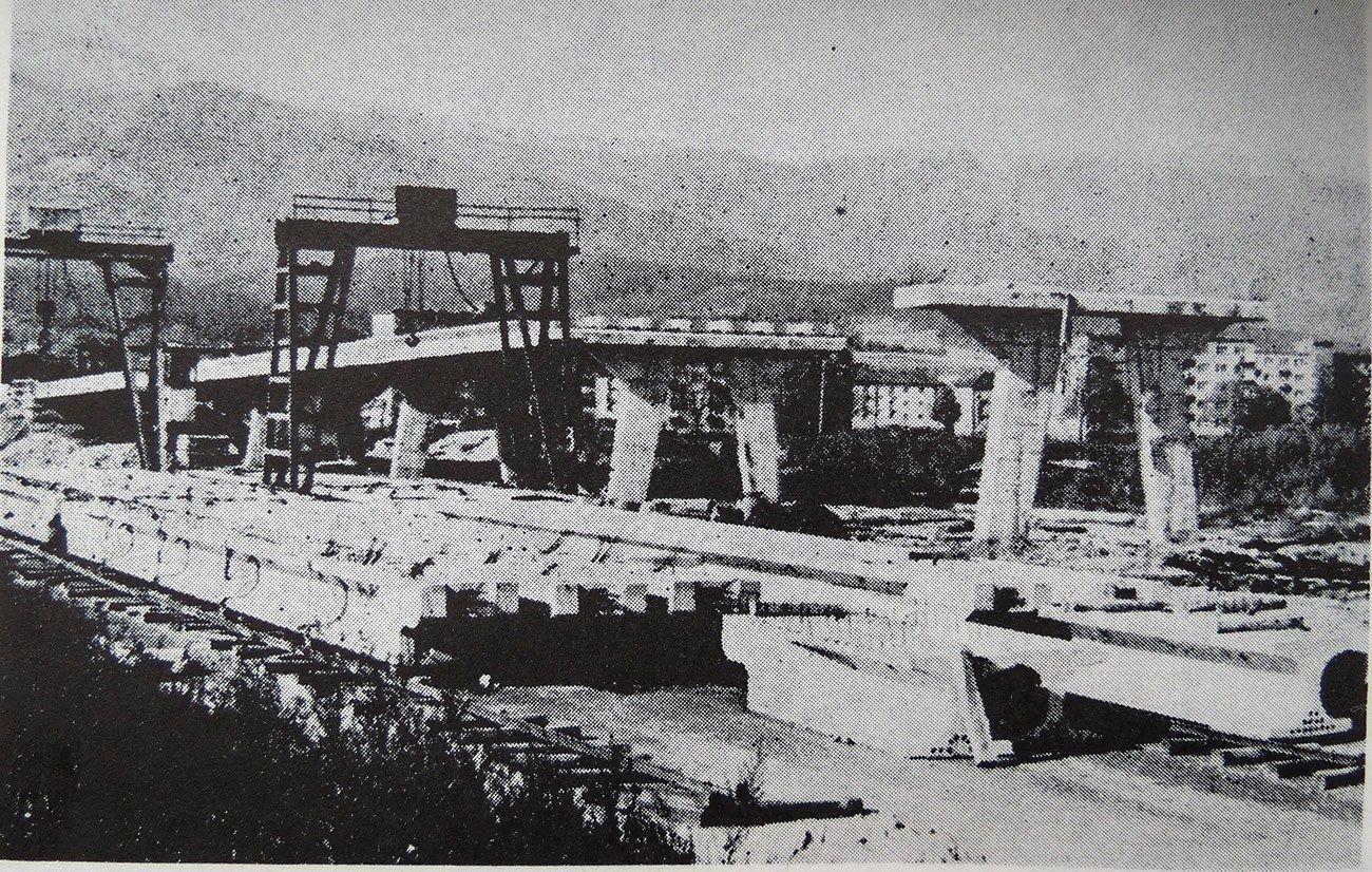 Most na Podháji, 60te roky