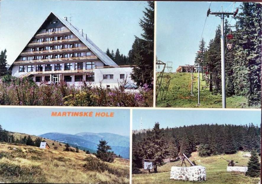 Martinské hole, 70te roky