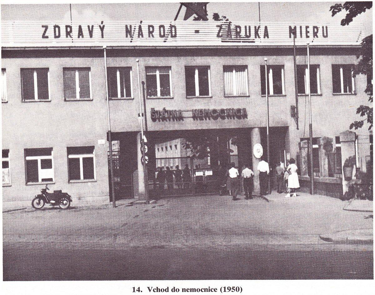 Nemocnica, 1950