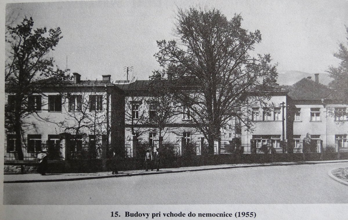 Nemocnica, 1955