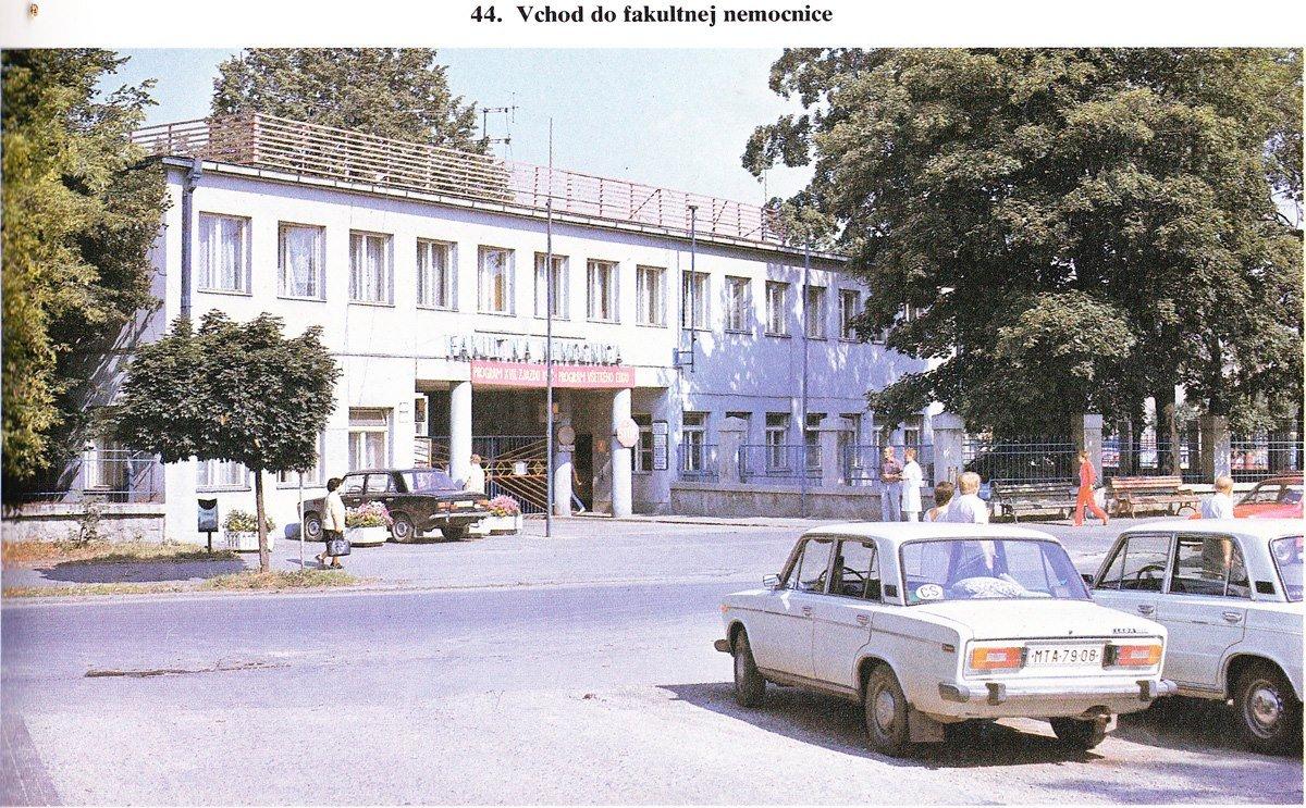 Nemocnica, 70te roky