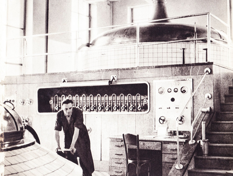 Pivovar, 50te roky