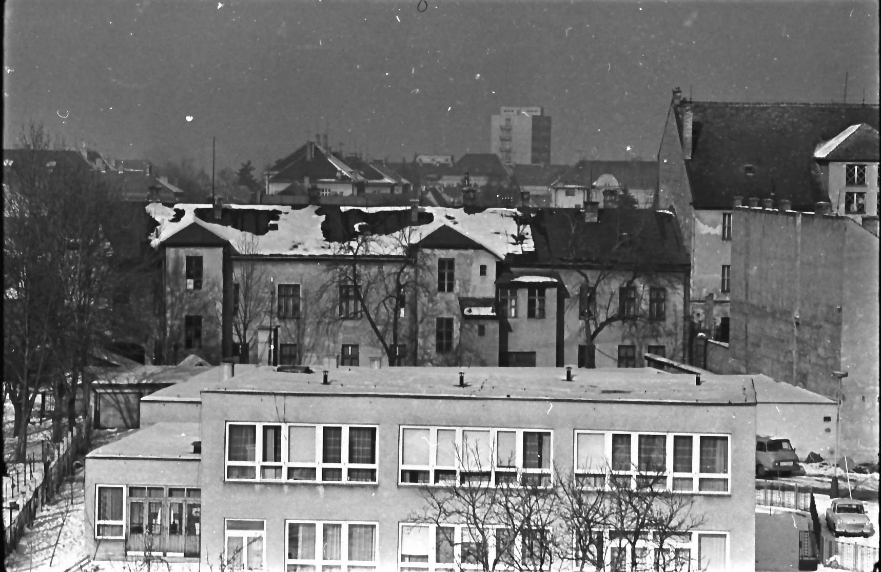 Materská škôlka, hotel Slovan, 80te roky