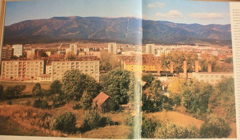 Pohľad na Kuzmányho ulicu, 80te roky
