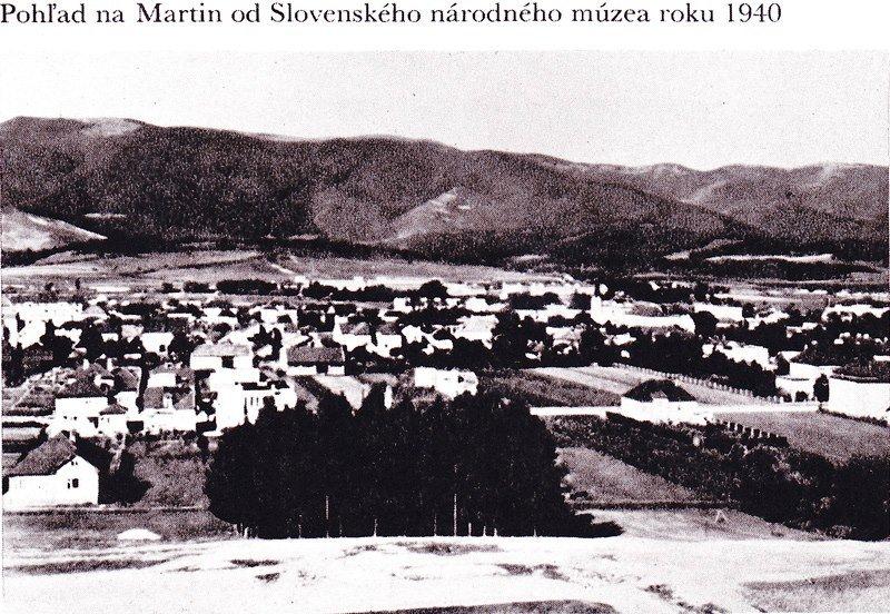 Pohľad na mesto 1940