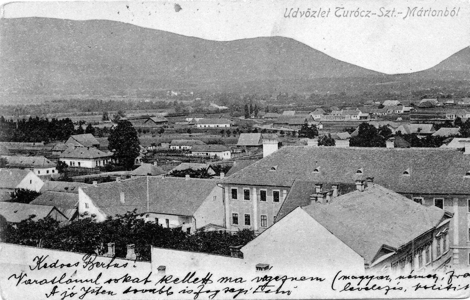 Pohľad na mesto z kostolnej veže