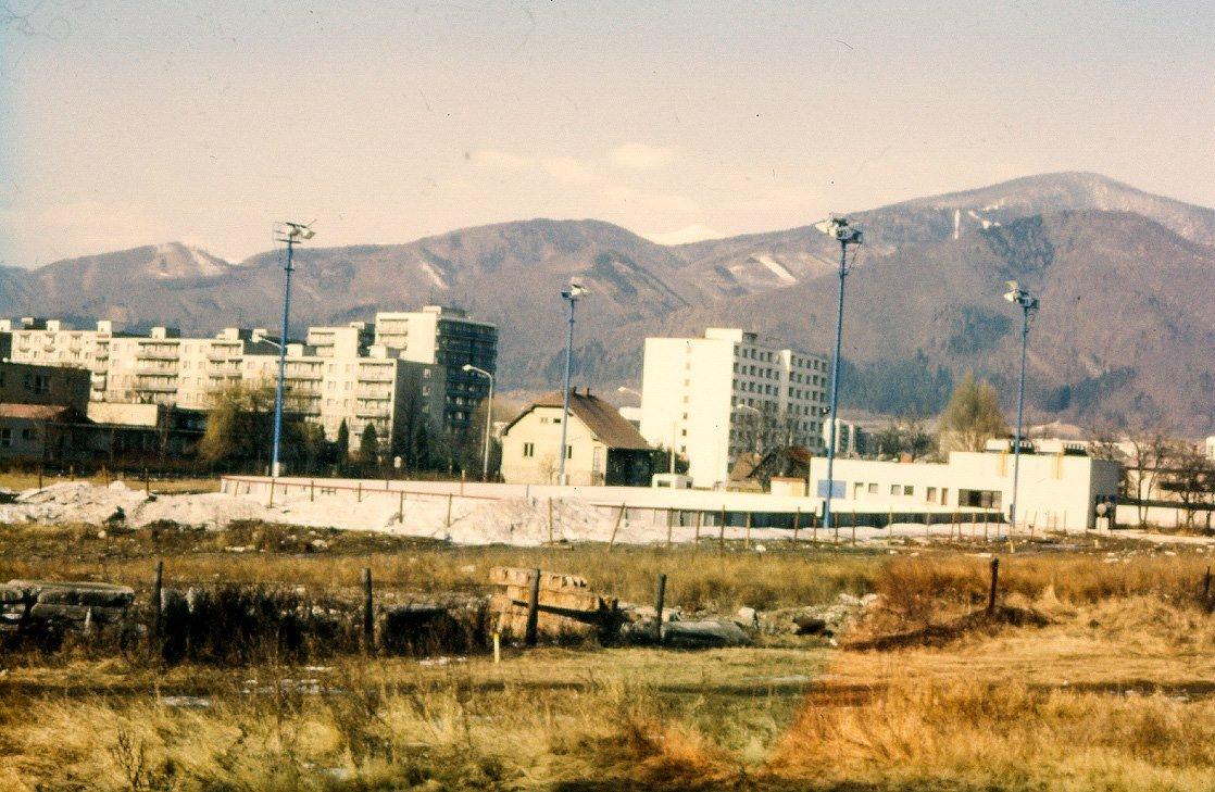 Klzisko v Priekopa, 80te roky