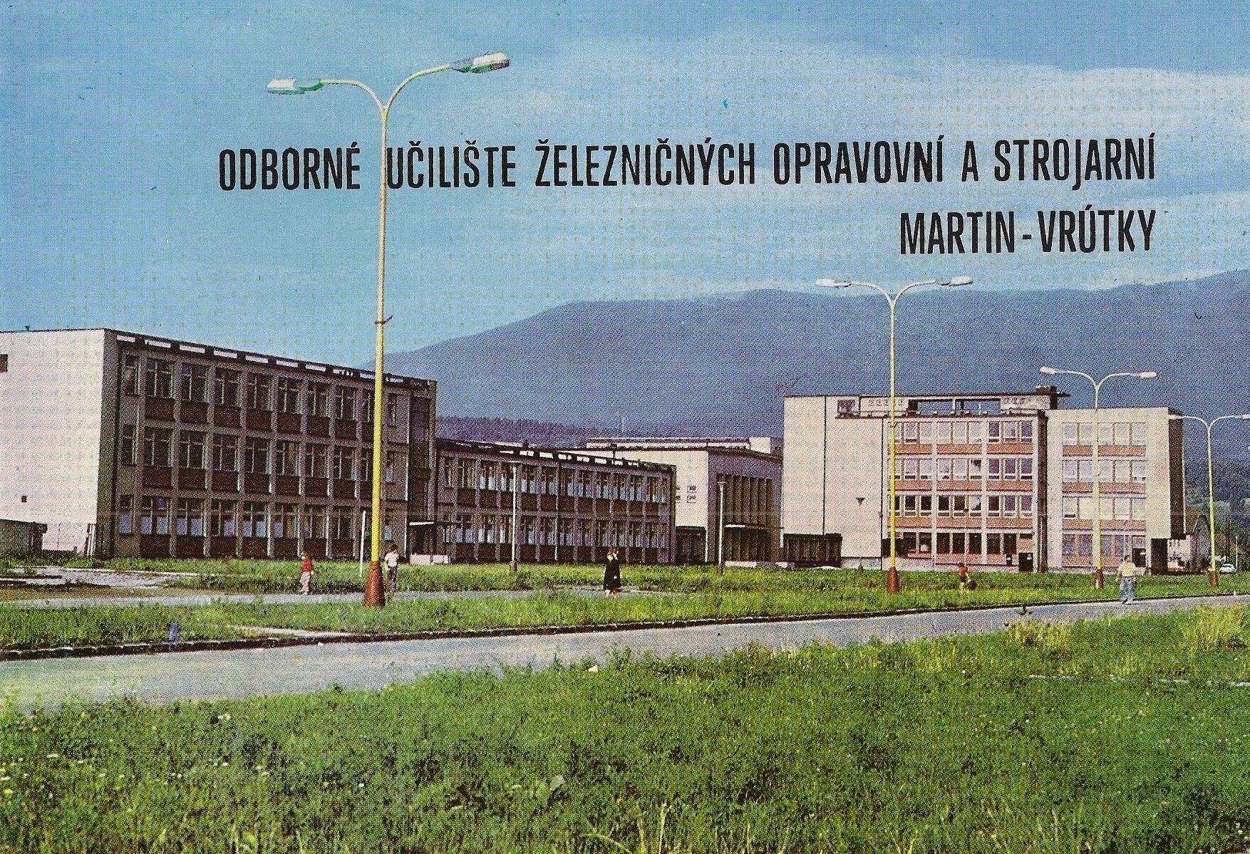 Priekopa, učilište, 80te roky