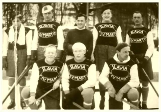 Prvý hokejový klub Slavia Sv. Martin, 30te roky
