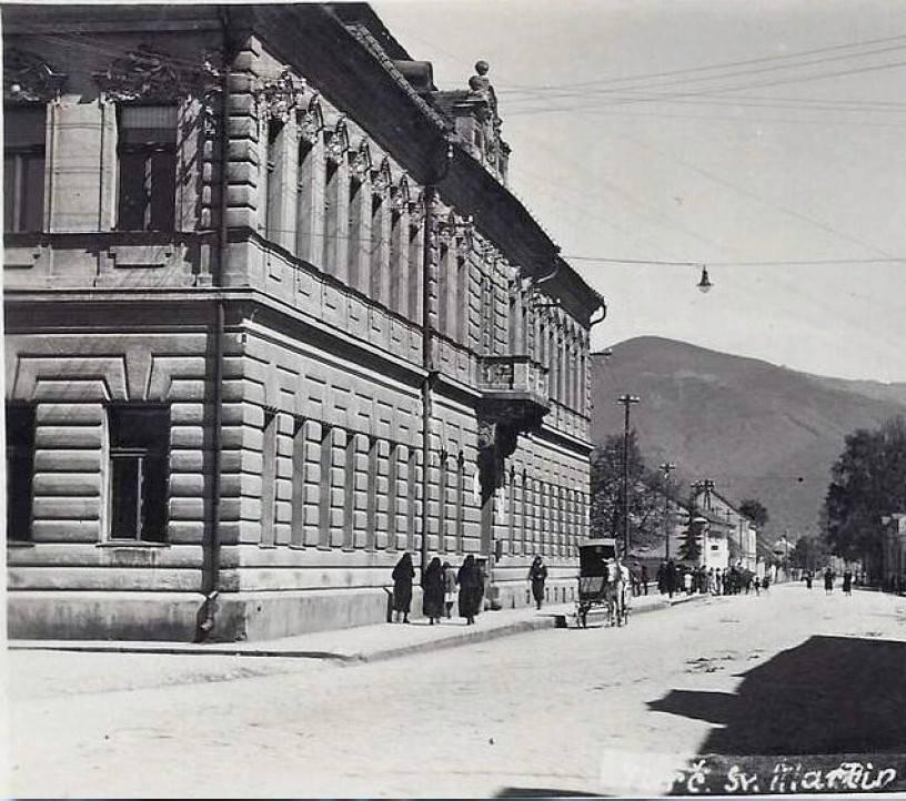 Prva budova Matica Slovenskej, 30te roky