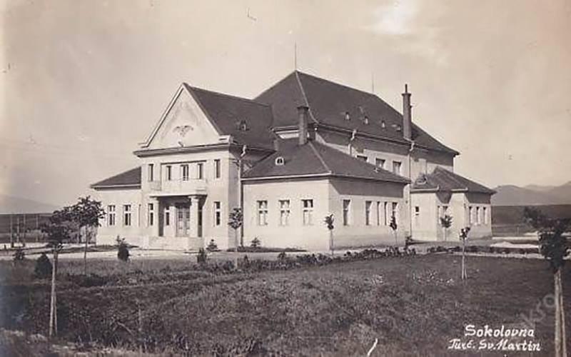 Sokolovňa, 1930