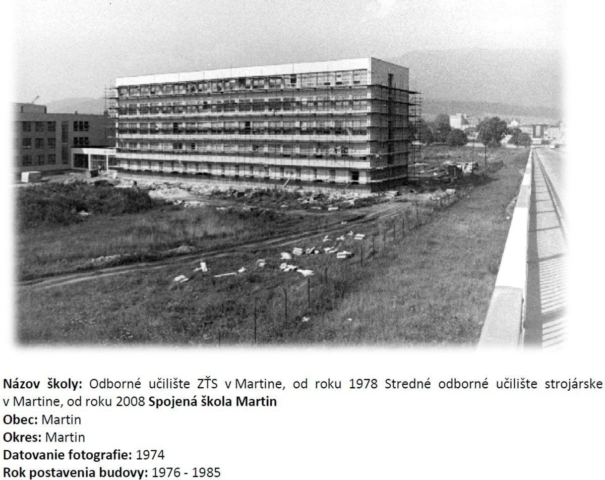 Stredné odborné učilište, 70te roky