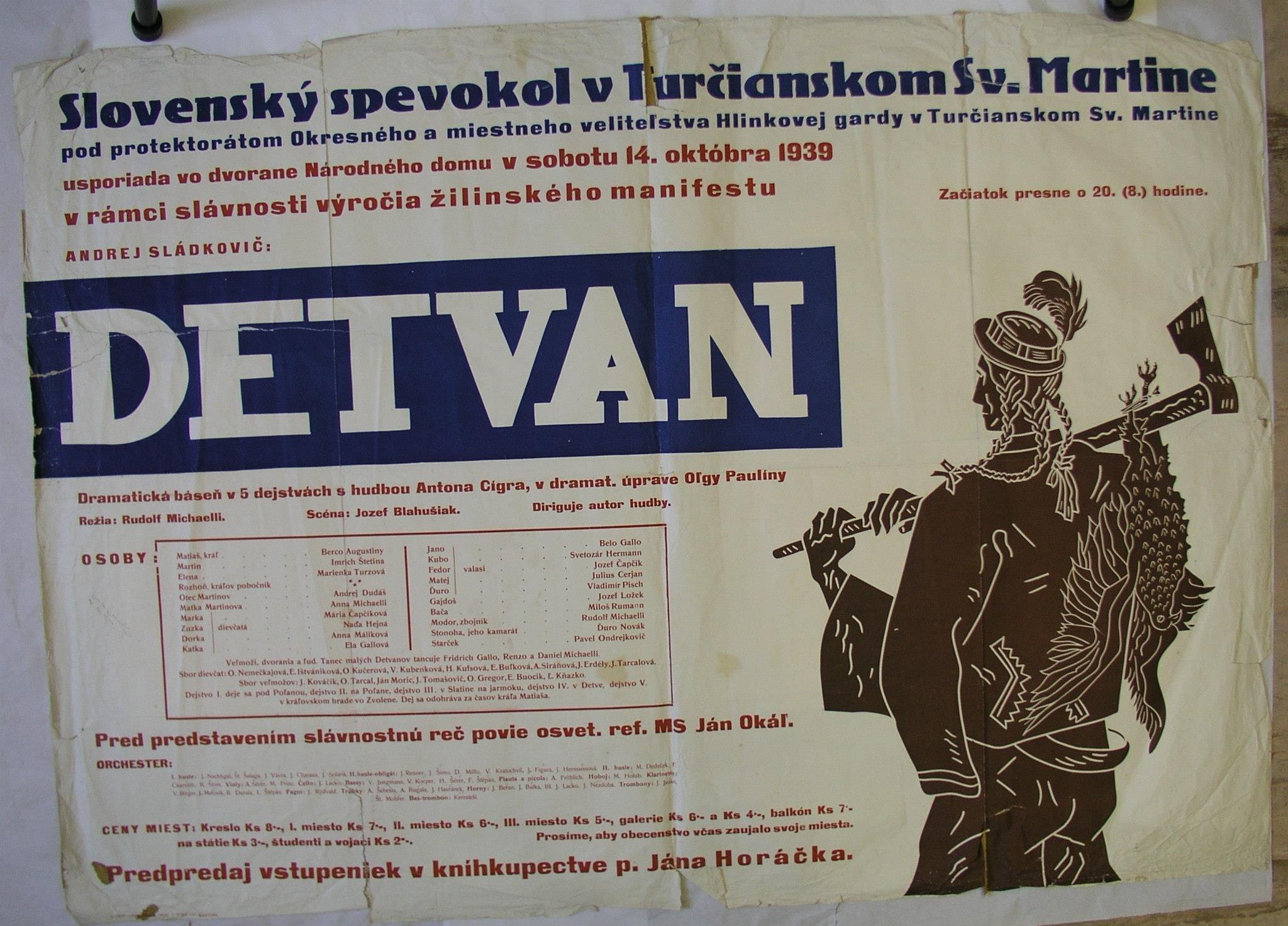 Spevokol, 1939