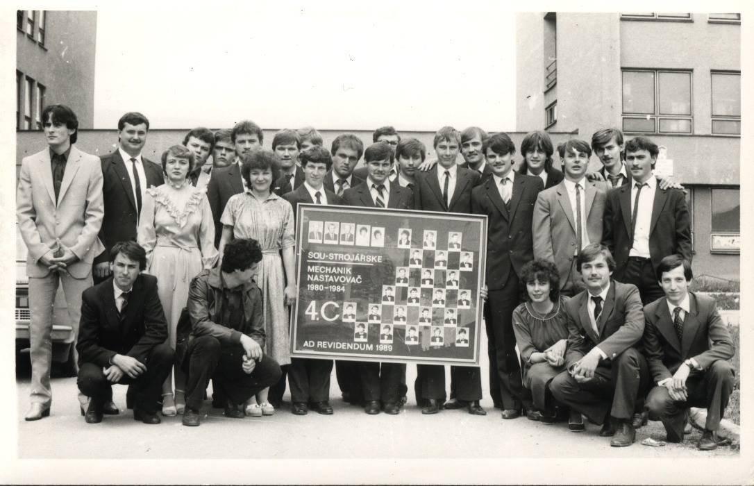 Spojená škola, 80te roky