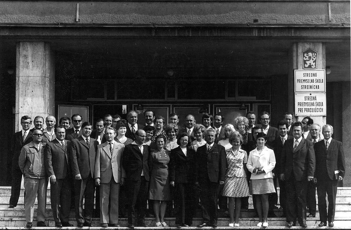 Stredná priemyselná škola, 70te roky