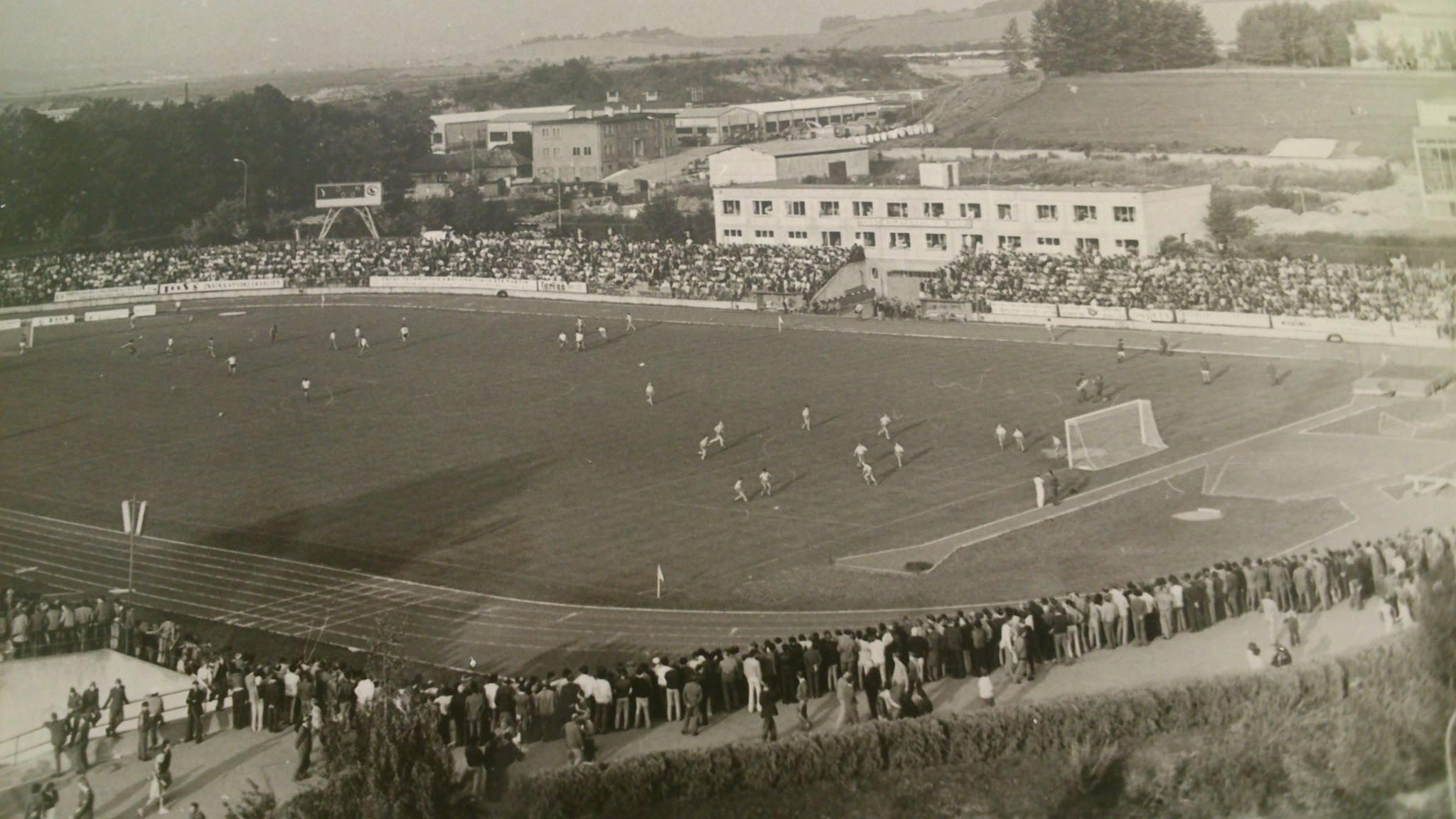Futbalový štadion, 70te roky