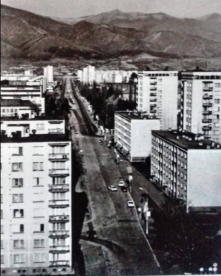 Ul.Osloboditeľov, 70te roky